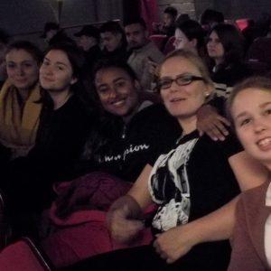 Schulkinowochen, Schülerinnen und Schüler im Kino