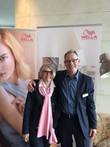 Thea Varel und Philibert Ebel (Wella)